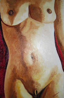 Torso femenino autor Jorge Marn