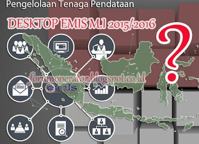 Aplikasi EMIS Desktop MI Semester Ganjil Tahun 2015 Masih Belum Dirilis