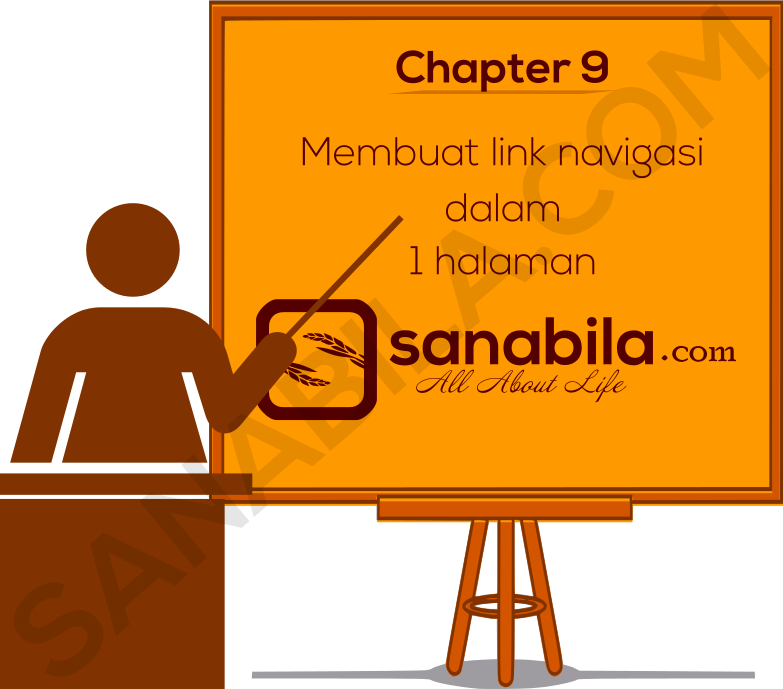 Chapter 9. Cara Membuat Link Navigasi Dalam 1 Halaman (Navigation Within A Document)