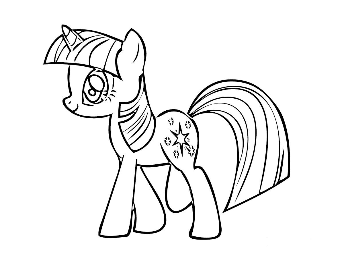 My Little Pony Twilight Sparkle Ausmalbilder : My Little Pony Friendship Is Magic Coloring Pages Twilight Sparkle
