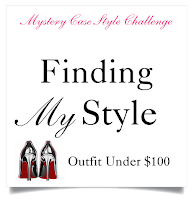 Blog Challenge | Giveaway | Outfit Under $100 | Finding My Style | Mystery Case