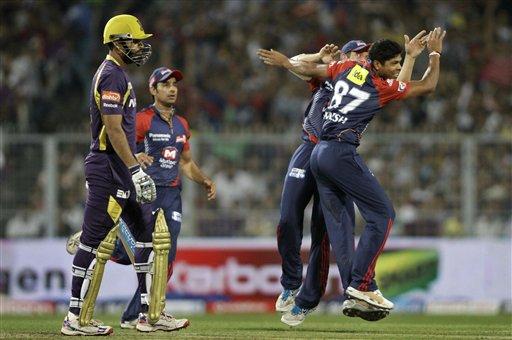 ... beat Kolkata Knight Riders by 8 wickets, KKR vs DD 2nd match