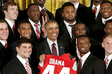 IN ENGLISH: President Obama honors the Ohio State Buckeyes at White House