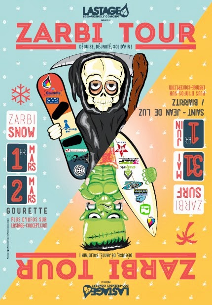 ZARBI TOUR 2014 Zarbi Snow 2014 à Gourette