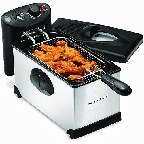 Cool kitchen stuff best electric deep fryers reviews and for Fish cooker walmart