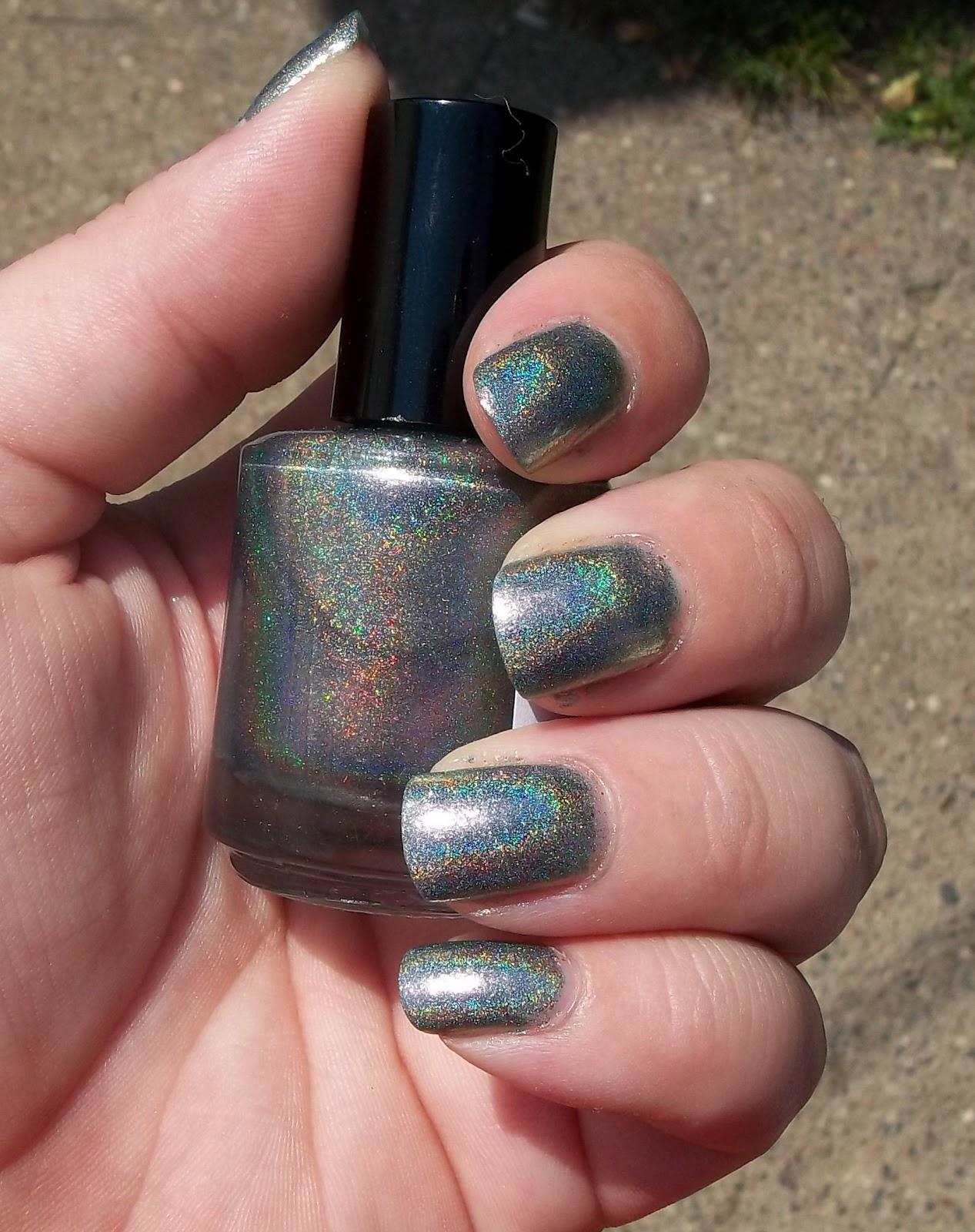 Not Too Polished: Darling Diva Polish- Space Beetle and Diabla