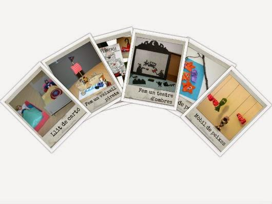 collage manualitats infantils i DIY