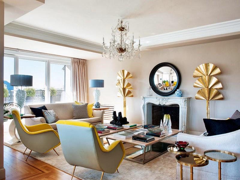 El blog de demarques vivienda madrile a con glamour - Casas con glamour ...