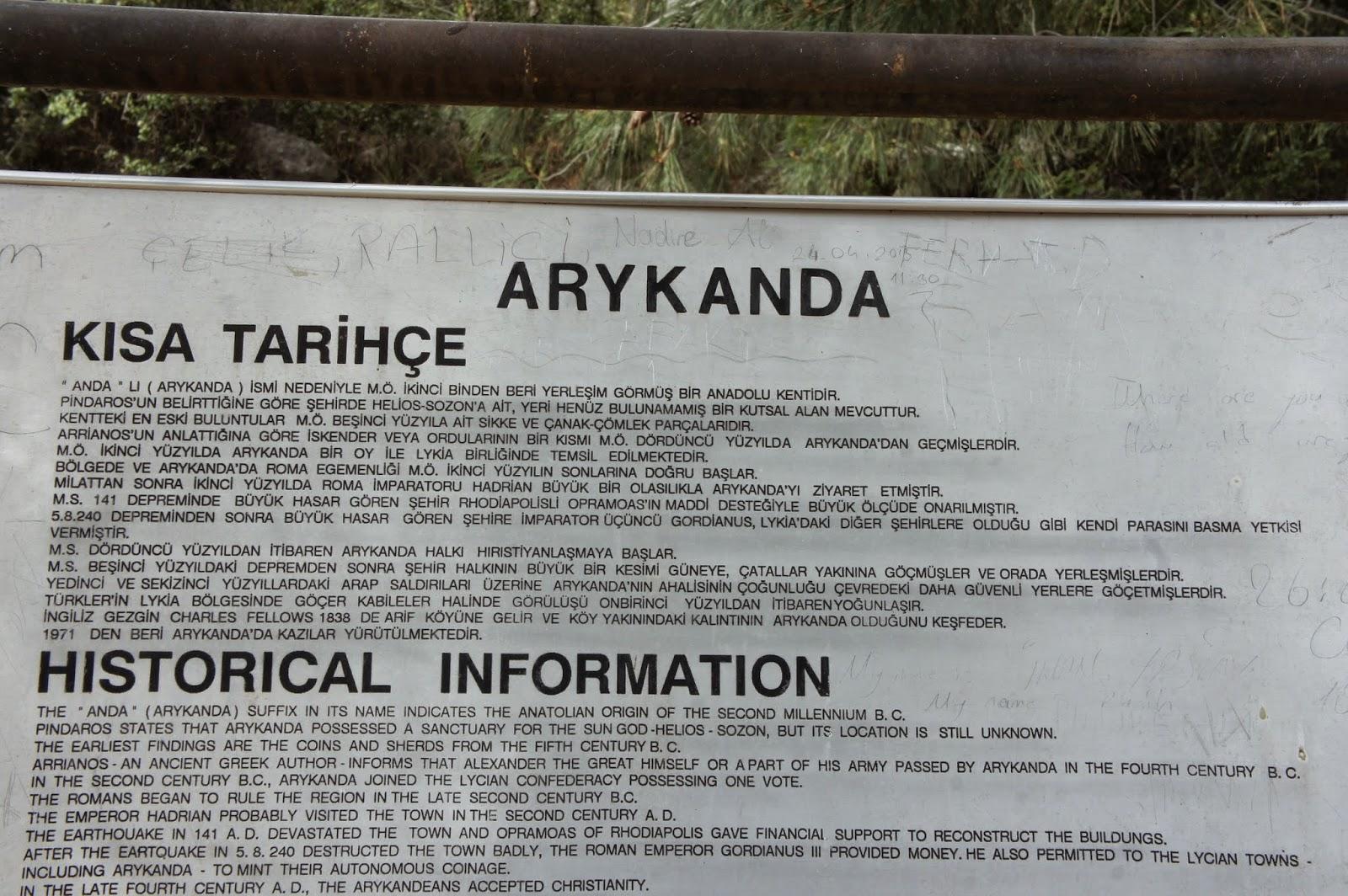 Banunun Yolları: Antik Şehirler: Rhodiapolis, Lymira ...