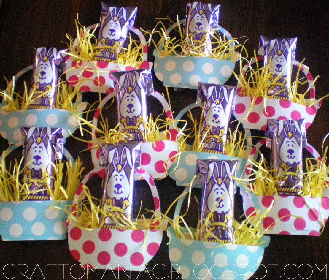 Paper easter basket treats craft o maniac paper easter basket treats craft o maniac negle Gallery
