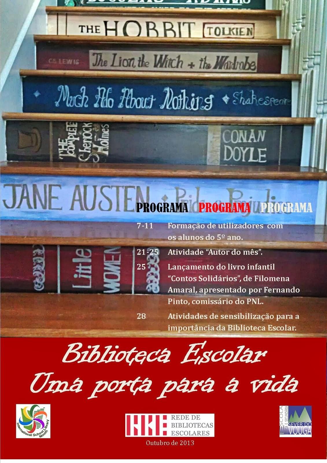 Dia das Bibliotecas Escolares