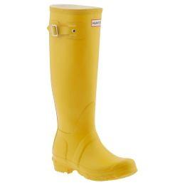 Hunter Boots Yellow9