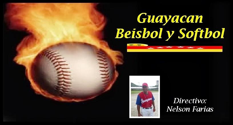 Sitio Web Guayacan Béisbol y Softbol