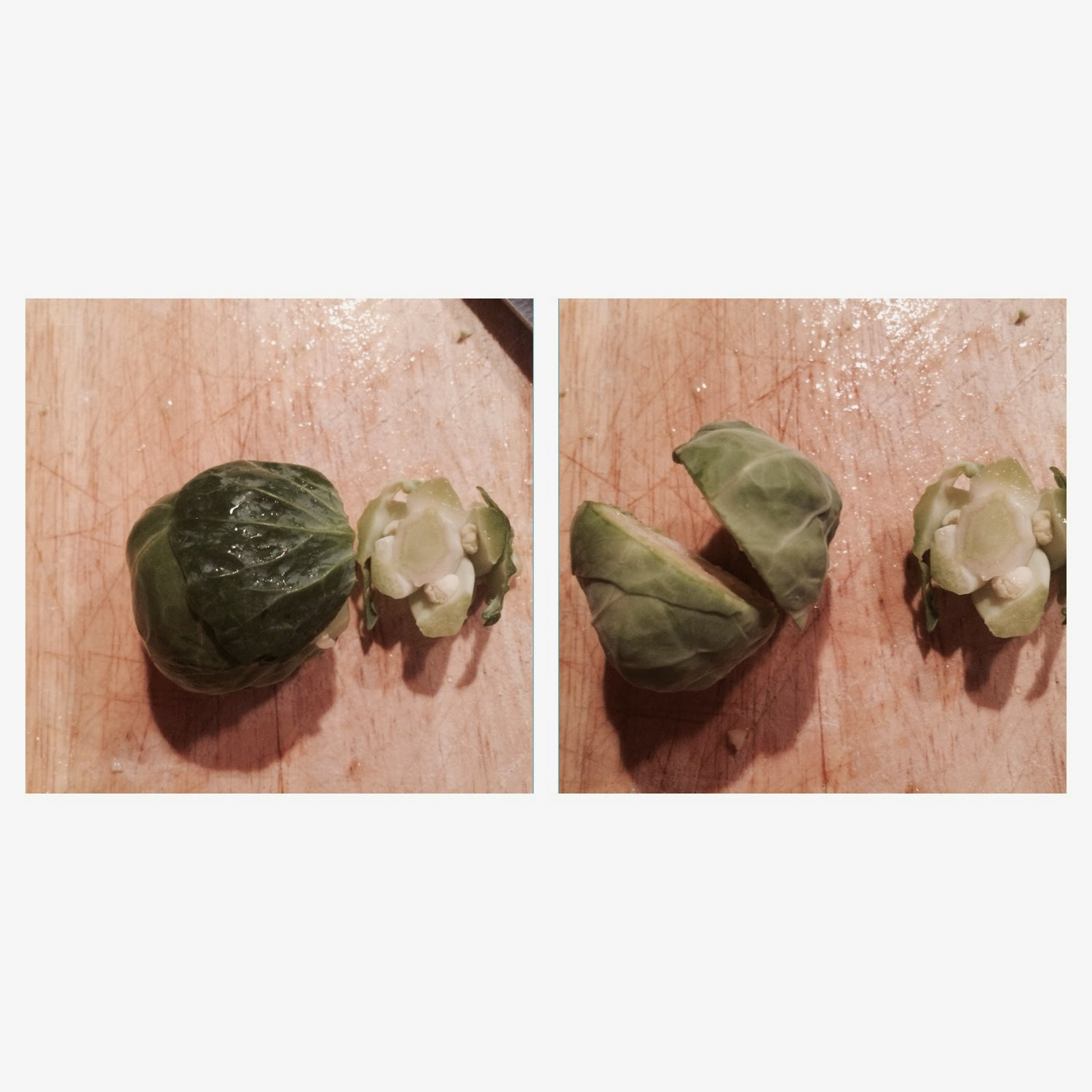 how to prepare bruseel sprouts for roasting
