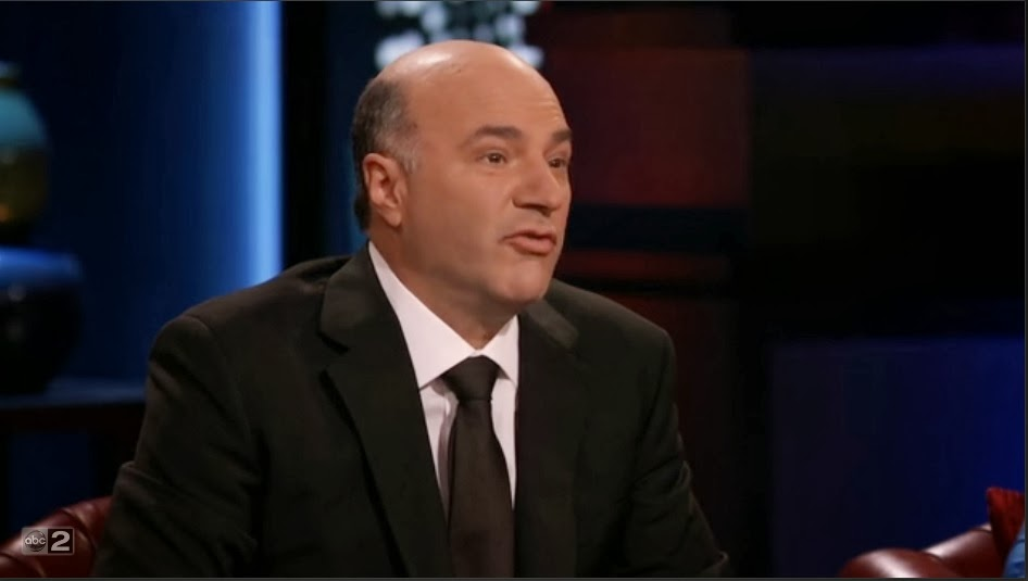 shark tank kevin o'leary greek mythology