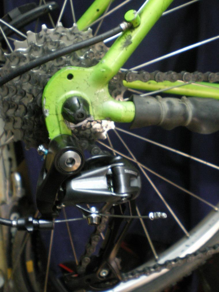 Bicicletas bikemania reparar patilla clasica cambio bicicleta - Anclaje para bicicletas ...
