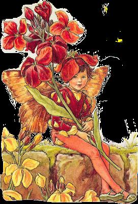 ilustración vintage hadas