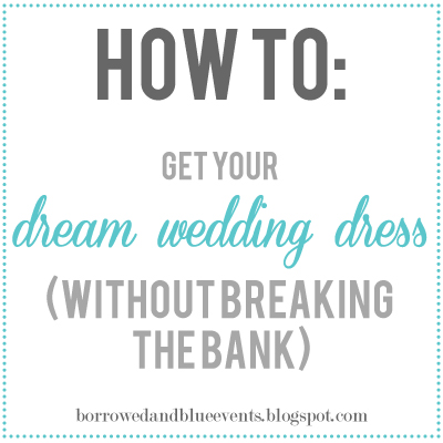 wedding dress on a budget