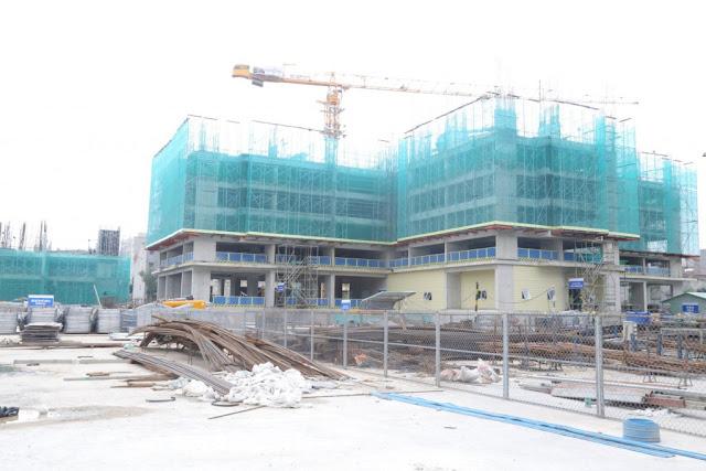 Tiến độ xây dựng tòa Sapphire
