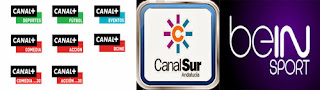Canal + Spanish Dcine Canal Liga + bein