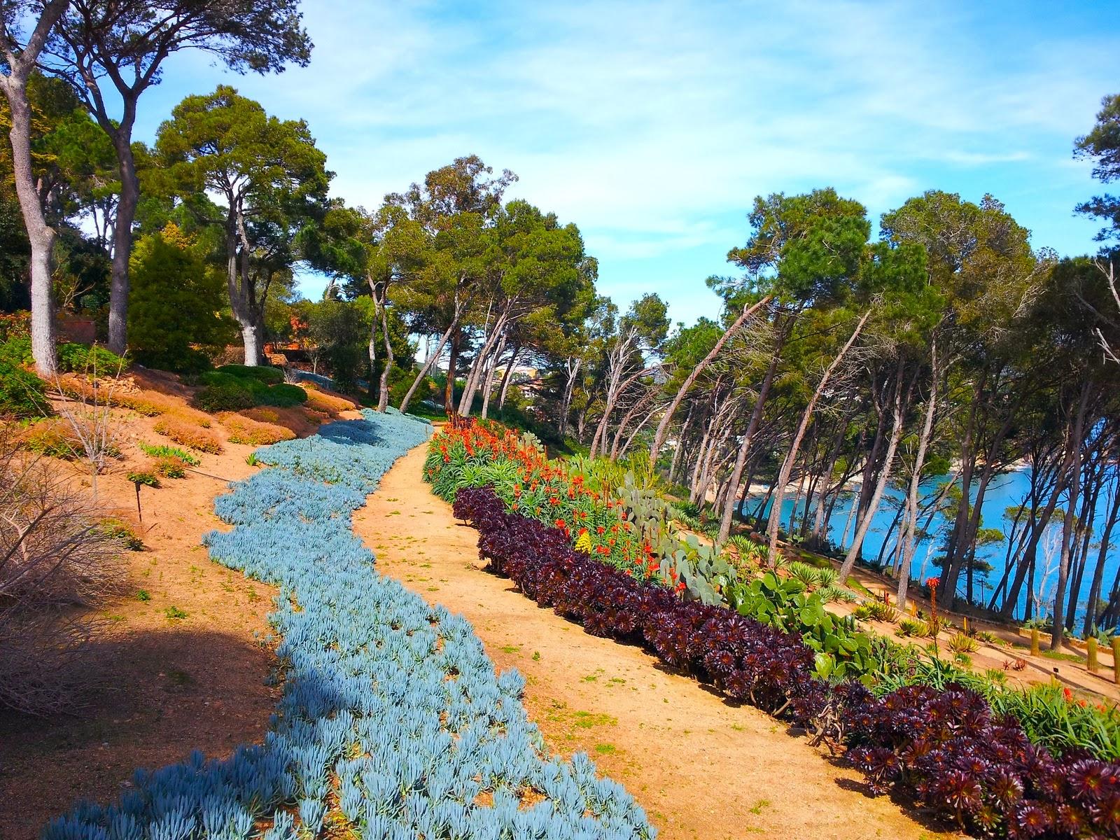 Els jardins del cap roig descobrint la costa brava for Jardines cap roig