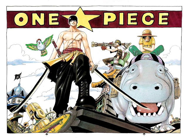 Gambar One Piece Zoro_Luffy_Usup by dq