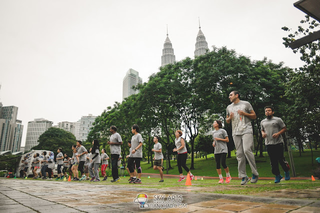 Bootcamp at KLCC Park - Maxis Health Engagement Programme