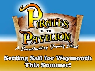 Pirates at the Pavilion Summer Family Show Tuesday Nights Weymouth Pavilion