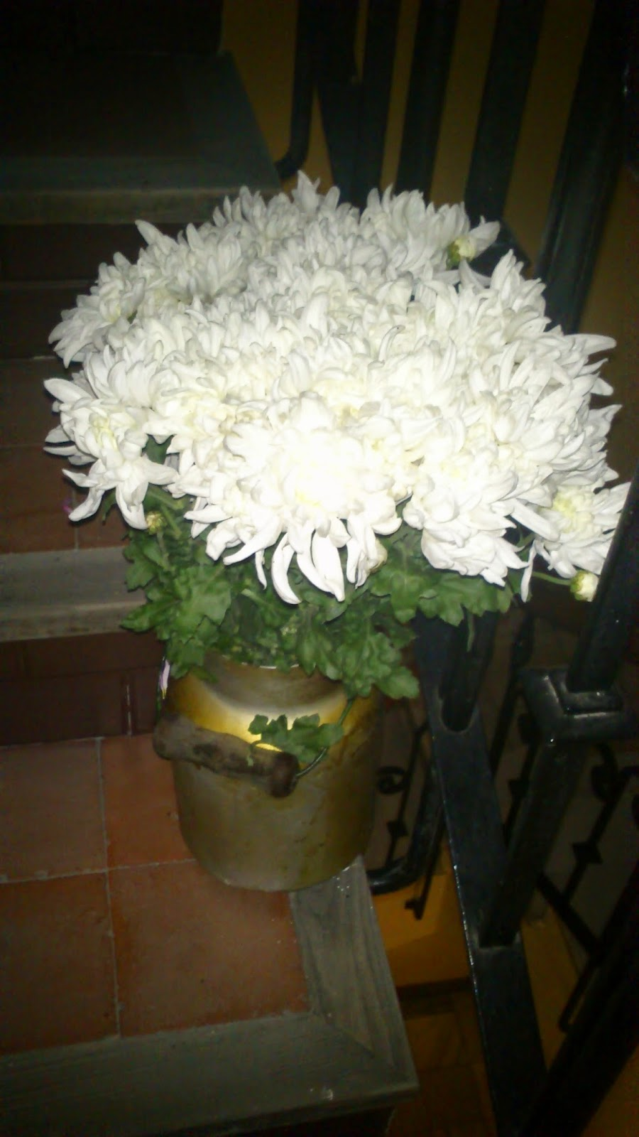 truco flores frescas