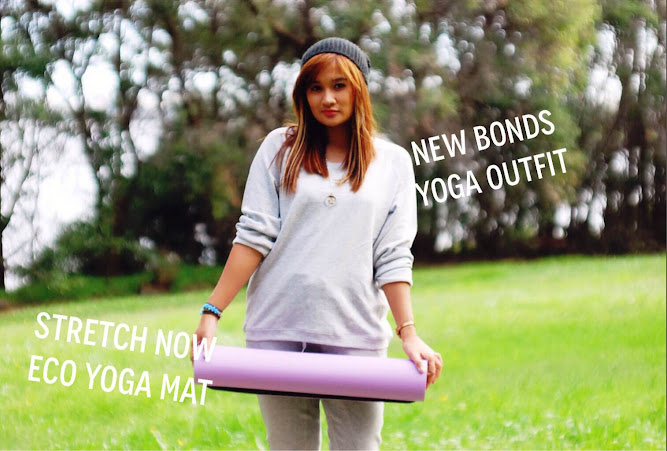 Bonds Yoga Outfit Active Range Stretch Now Eco Yoga Mat