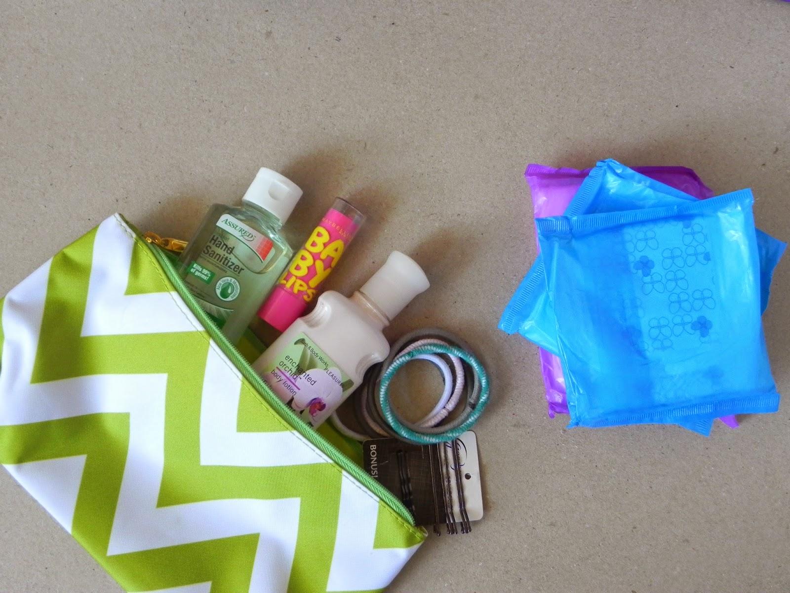 Smart N Snazzy Diy Locker Emergency Kit For Teens Freetomove