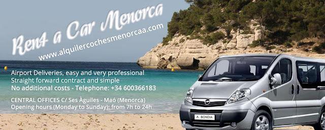 Car hire Menorca. Car rental and Airport Deliveries in Menorca