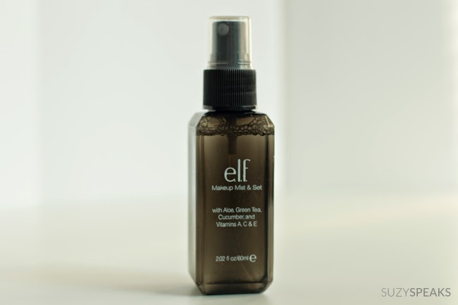 e.l.f. mist and set spray review
