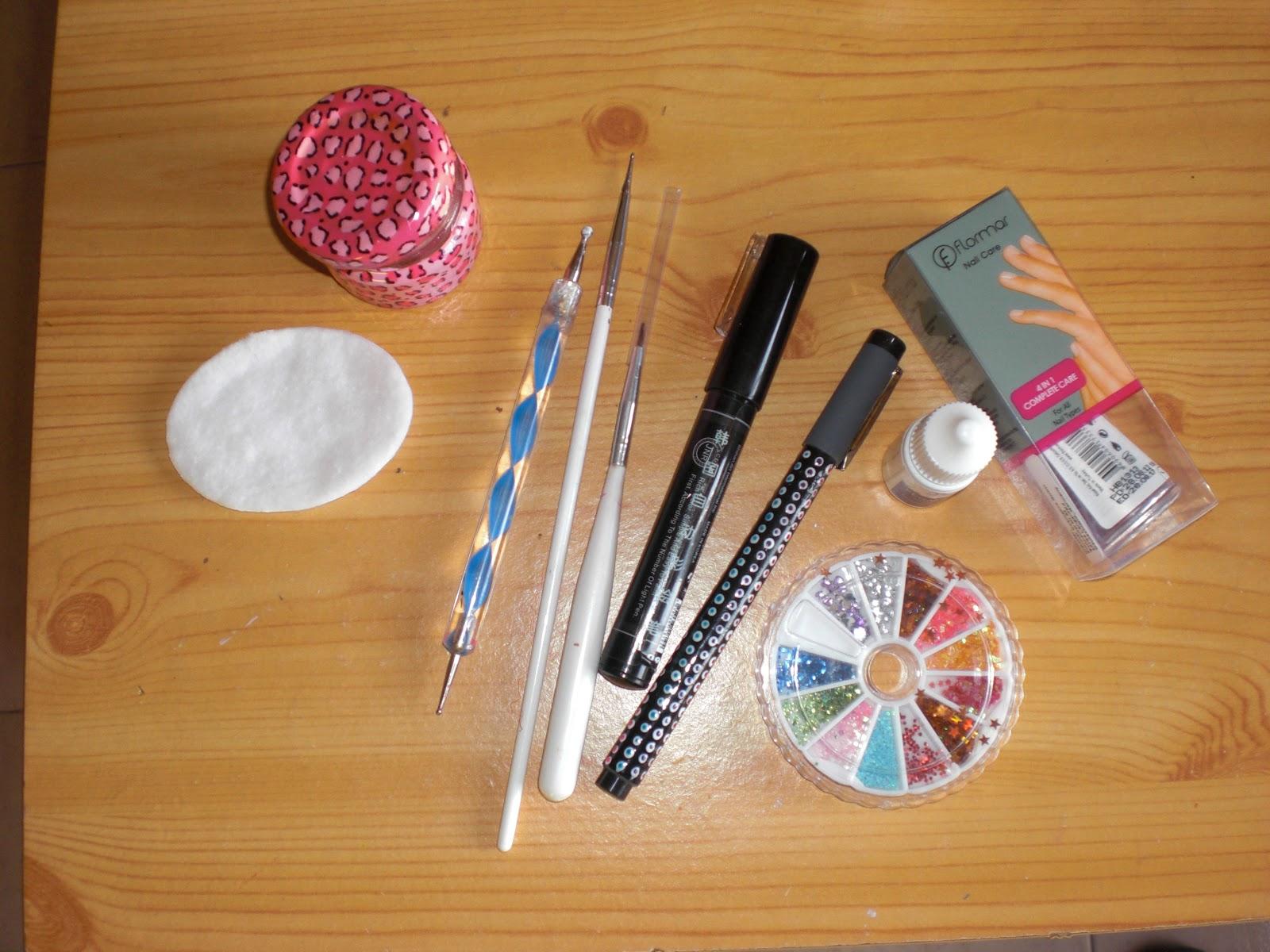 Decora tus u as tutorial u as de navidad - Materiales para pintar ...