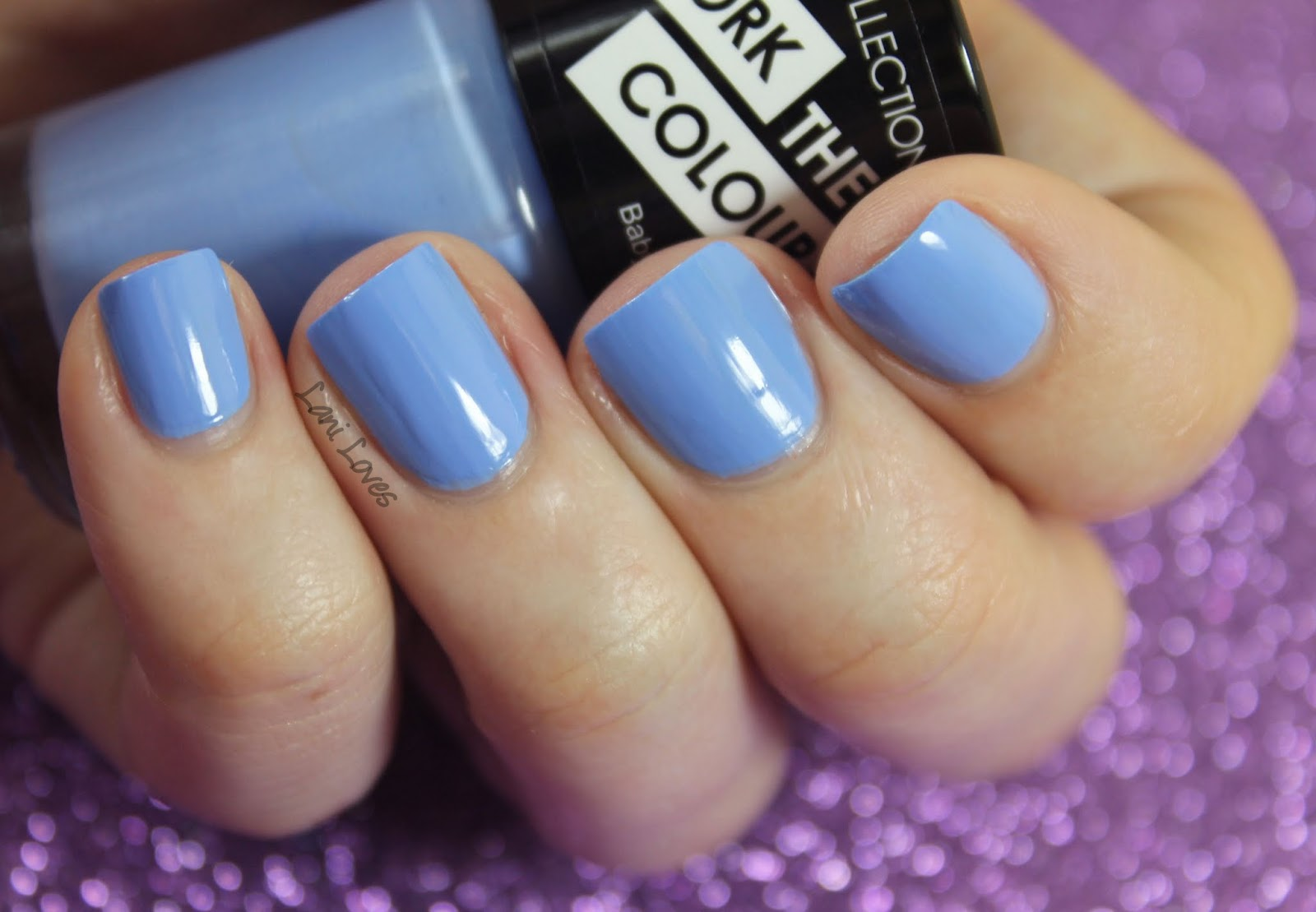 collection work the colour nail polish swatches & review - new