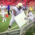Alcorn State receiver injures himself punching dry erase board (Video)