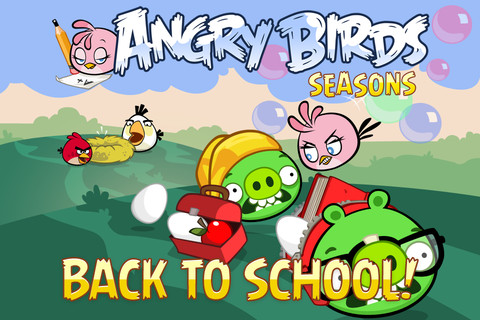Angry Birds Season v2.5.0 (Back To School)