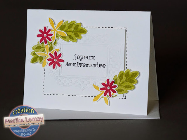 flower patch stampinup!