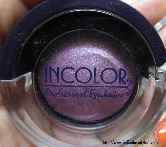 incolor eyeshadow