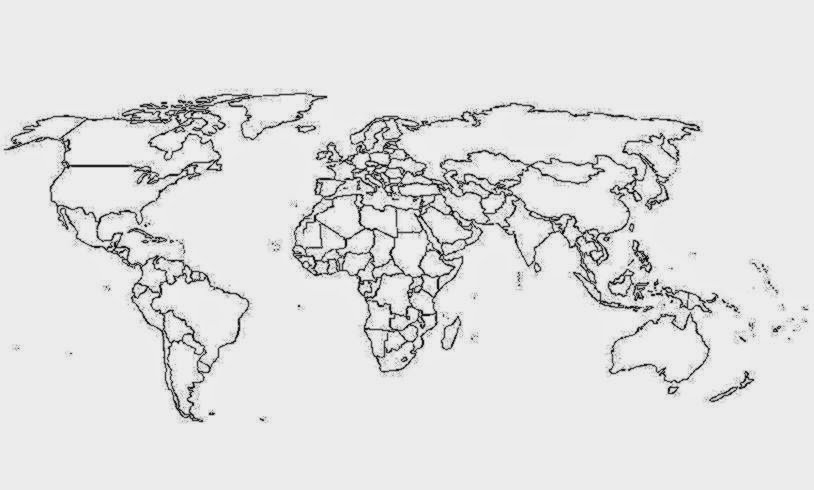 Printable World Map Coloring Page For Kids Cool2bkids regarding Map Of The Wo