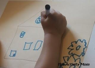 simon says drawing