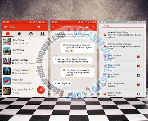 BBM Mod Android Pathrick Terbaru Versi 2.9.0.51 Path Theme