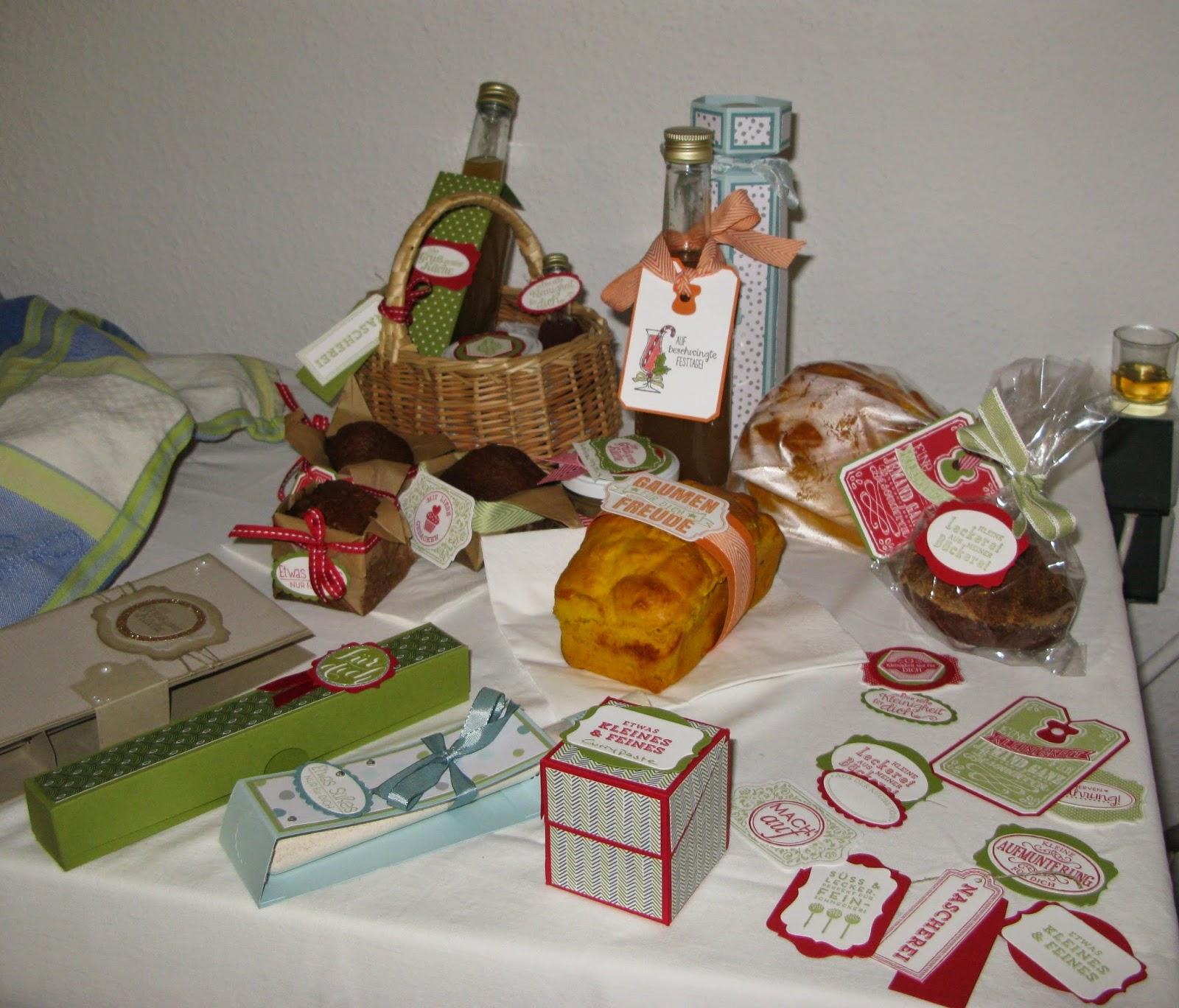 stampin mit scraproomboom: geschenke aus der küche ein kleine einblick