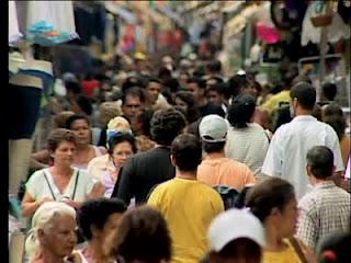 Brasileiros entram na classe média