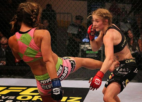 Marloes Coenen-Miesha Tate-women fighters