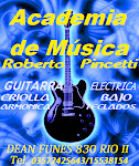Roberto Beto Pincetti Academia de música en FACEBOOK: