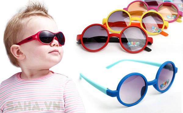 mắt kính trẻ em gọng tròn 3479