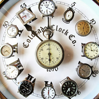 Wrist Watch's Wall Clock