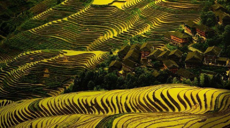 Tiny towns Dazha, China