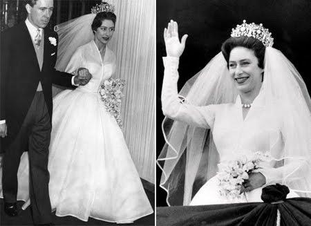 Булчинската рокля на Принцеса Маргарет